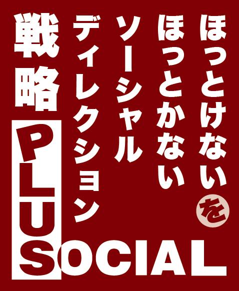 戦略 PLUS SOCIAL ほっとけないをほっとかないソーシャルディレクション